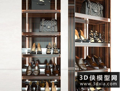 鞋子国外3D模型【ID:929463628】