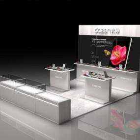 现代展柜3D模型【ID:326235503】