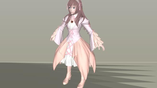 爱丽丝SU模型【ID:640500765】