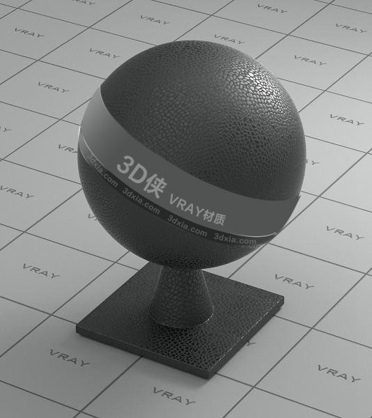 灰色皮革Vray材質【ID:736537951】