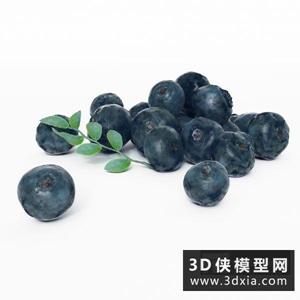 藍莓國外3D模型【ID:929806565】