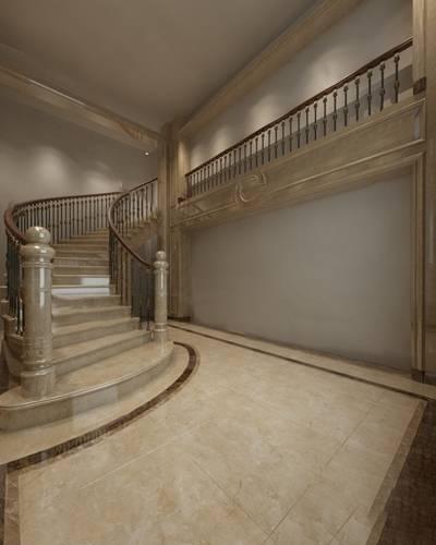 欧式楼梯3D模型下载【ID:919601118】