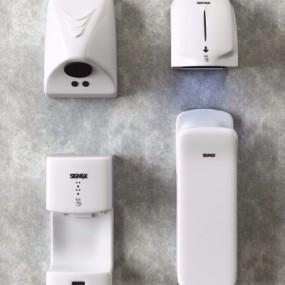 现代卫生间烘干手机组合3D模型【ID:128403784】