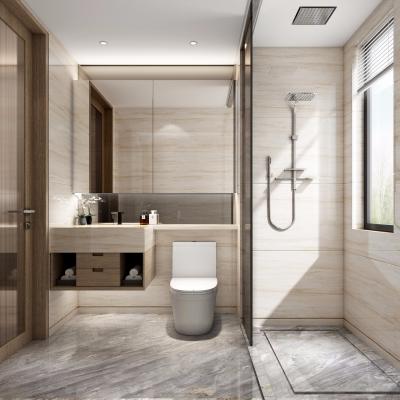 现代浴室卫生间3D模型【ID:127770678】