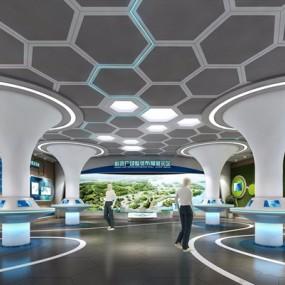 城市展示中心3D模型【ID:528011404】