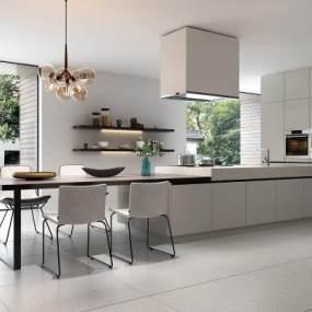 现代厨房3D模型【ID:534786362】