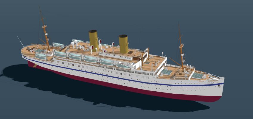船SU模型【ID:644023015】