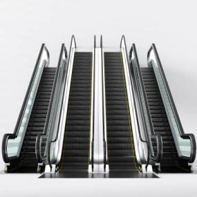 现代扶梯电梯3D模型【ID:330495519】
