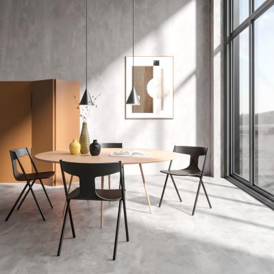現代簡約餐桌椅組合3D模型【ID:751050128】