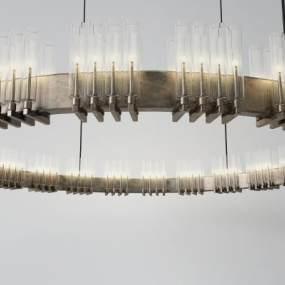 中式吊燈3D模型【ID:752186804】