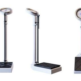 医疗人体体重秤设备3D模型【ID:343844803】