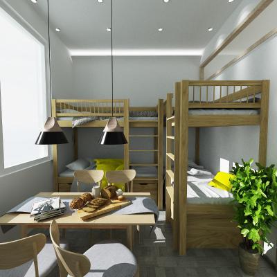 日式宿舍3D模型【ID:931092994】