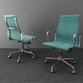 现代办公椅3D模型【ID:736213403】