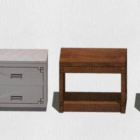 新中式床头柜【ID:248848383】