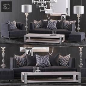 现代沙发3D模型【ID:632081710】
