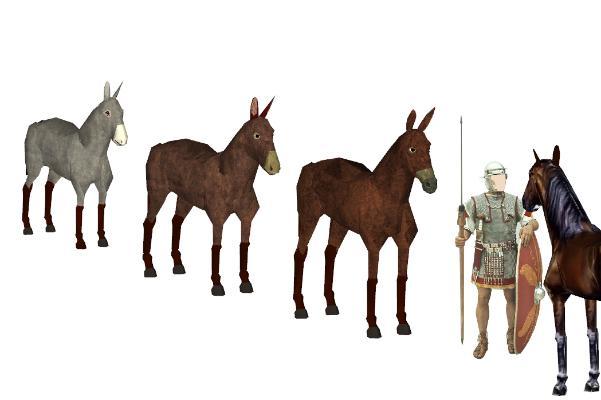 現代馬SU模型【ID:351892806】
