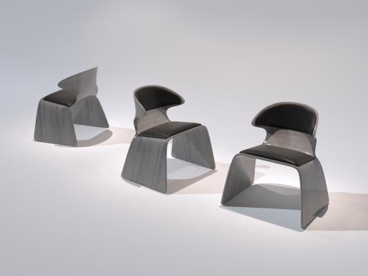 現代椅子3D模型【ID:752382023】