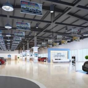 现代汽车销售展厅3D快三追号倍投计划表【ID:934738705】