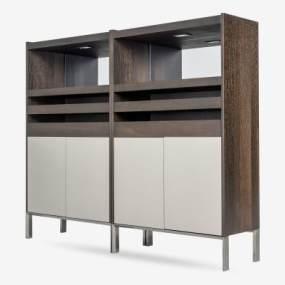 现代餐边柜组合3D模型【ID:143417054】