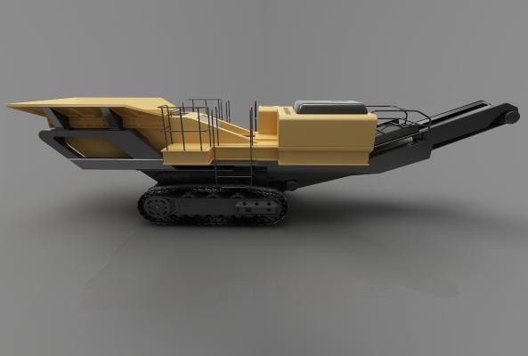 现代风格推土车3D模型【ID:443548722】