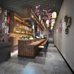 日式料理店3D模型【ID:649977991】
