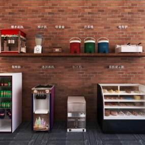 现代厨房用品3D模型【ID:234746850】