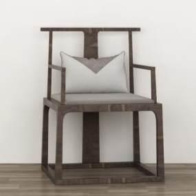 中式椅子3D模型【ID:747269015】
