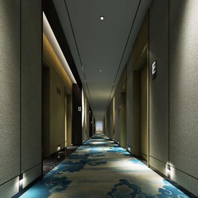 酒店走廊空間3D模型【ID:741681407】