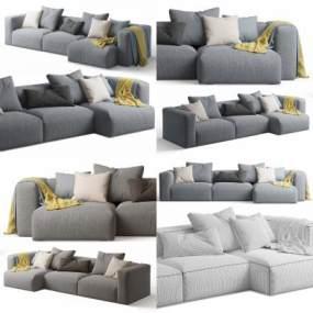 现代沙发3D模型【ID:653325515】