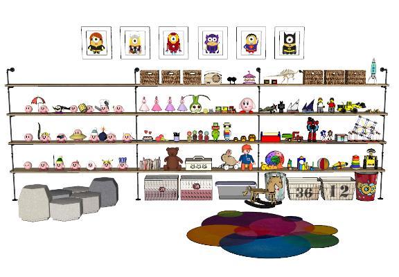 现代儿童玩具SU模型【ID:152091348】