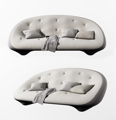 现代双人沙发3D模型【ID:653279536】