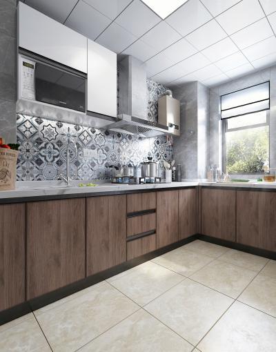 现代厨房3D模型【ID:142087707】