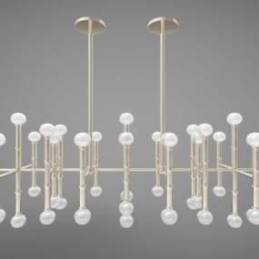 現代風格吊燈3D模型【ID:753476862】