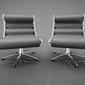 现代风格休闲沙发3D模型【ID:742552485】