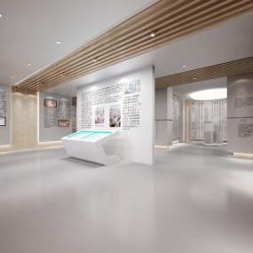 现代展厅3D模型【ID:932530695】