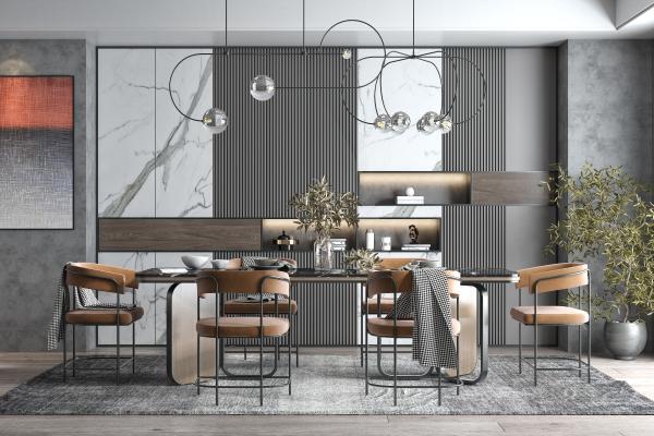 现代轻奢餐厅