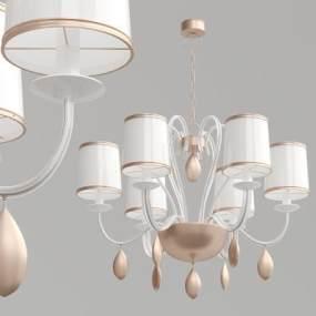 現代簡約時尚吊燈3D模型【ID:734826857】