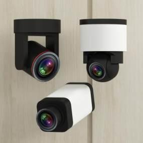 现代视频会议摄像头3D模型【ID:230878770】