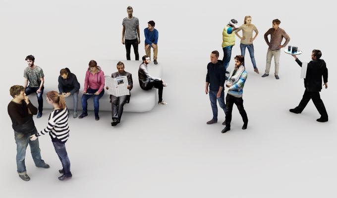 人物3D模型【ID:642726445】