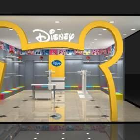 现代童装店3D模型【ID:943347765】