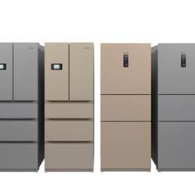 现代冰箱3D模型【ID:233439604】