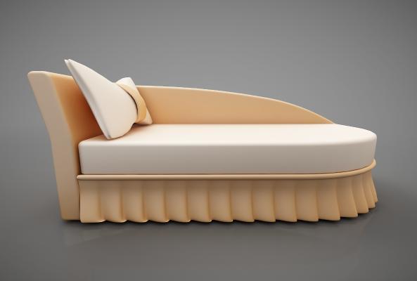 现代风格沙发3D模型【ID:642693697】
