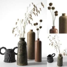 現代陶瓷3D模型【ID:242900543】