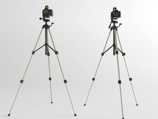 现代照相机3D模型【ID:452280474】