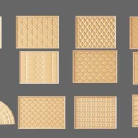现代五金件3D模型【ID:342509346】