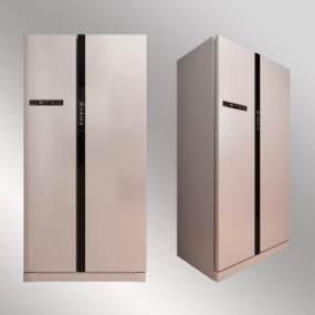 现代冰箱3D模型【ID:233778665】