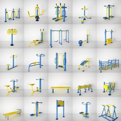 現代健身器3D模型【ID:350244807】
