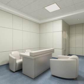 现代特殊病房3D模型【ID:944037344】