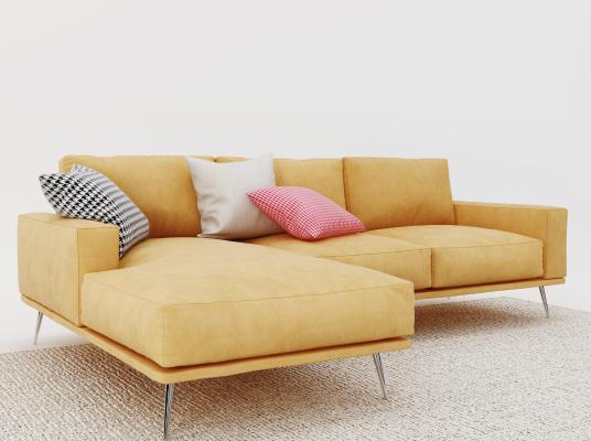 現代沙發3D模型【ID:632358638】