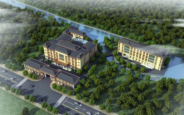 新中式藏族酒店3D模型【ID:245549038】